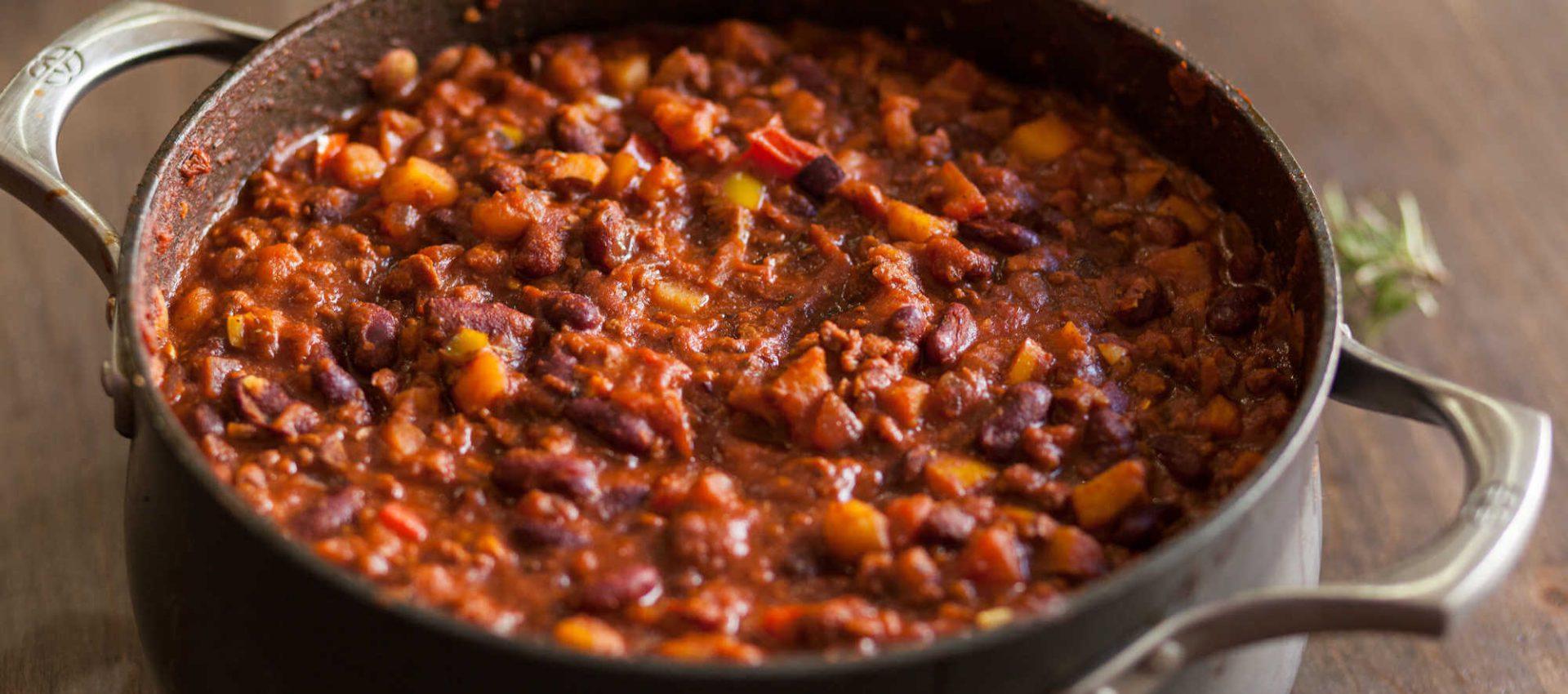 Chili sin carne (vegano)