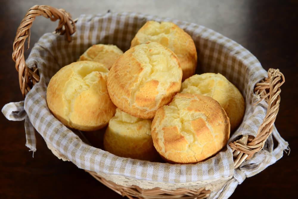 Pão de queijo vegano (de mandioquinha)